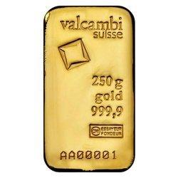 Sztaba złota LBMA 250 g