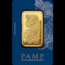 Sztaba złota PAMP 100 g 24H