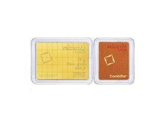 Sztaba złota VALCAMBI Combibar 50 x 1 g 24H