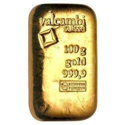 Sztaba złota lana LBMA 100 g 24H